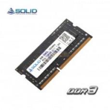 Memória SO Dimm DDR3L Solid 4Gb 1600Mhz PC3L-12800