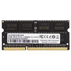 Memória SO-Dimm DDR3L Solid 4Gb 1600Mhz PC3L-12800