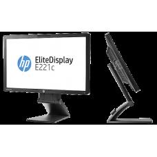 """Monitor RF 22"""" HP E221C FullHD DP/Vga/Hdmi/Webcam"""