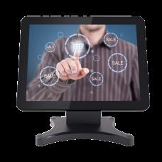 "Monitor Touch 15"" 5-Wire Resistive Black 1024x768 2ms Vga/Hdmi/Usb"