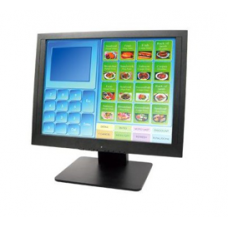 "Monitor Touch 15"" 5-Wire Resistive Black 1024x768 VGA USB"