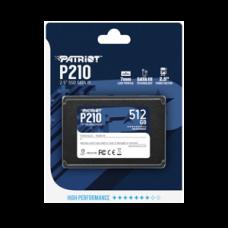 """Disco SSD Patriot P210 512GB SATA3 2.5"""" 520R/430W"""